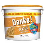 Tencuiala decorativa Danke Textur, aspect structurat, orange, interior/exterior, 25 kg