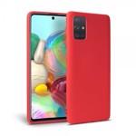 Husa Silicon Soft Upzz Samsung Galaxy A51 Interior Alcantara Red