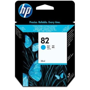 HP C4911A Ink Cyan Cartridge for DnJ500/500PS/800/800PS 69ml No. 82 C4911A