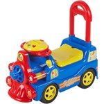 Locomotiva pentru copii Loco - albastru