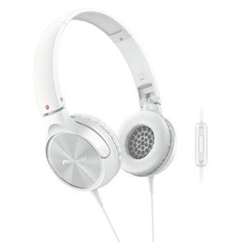 Casti On-Ear Pioneer SE-MJ522T-W, Cu Fir, Alb