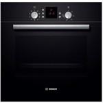 Cuptor electric incorporabil Bosch HBN539S5, clasa A, 66 litri, 8 functii, grill, ventilator, program pizza, curatare catalitica, 2900 W, negru