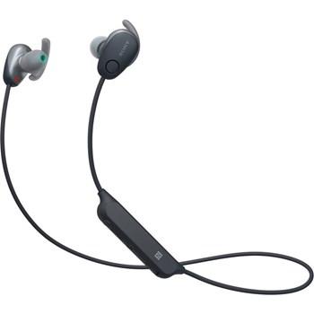 Casti Sony WI-SP600 Bluetooth sport, negru