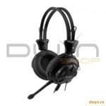 A4Tech HS-28-1, Headphone, Volume control, Microphone