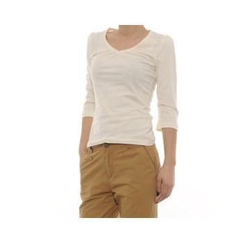 Tricou cu maneca 3/4 pentru femei