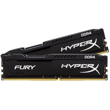 Memorie RAM Kingston, DIMM, 8GB, 2400MHz, DDR4, CL15, DIMM, KIT 2*4GB, HyperX FURY Black