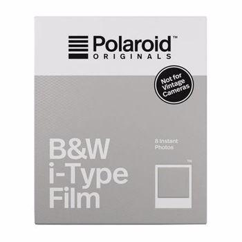 Film B&W Polaroid Originals pentru i-Type