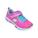 Pantofi sport SKECHERS roz, Litebeams Gleam N Dream, din material textil