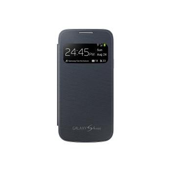 Samsung S-View Cover negru pentru  Galaxy S4 Mini i9195