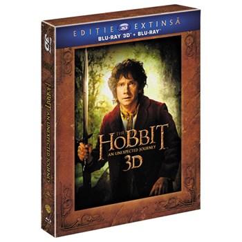 Hobbitul - O calatorie neasteptata - Versiune extinsa Blu-ray 3D