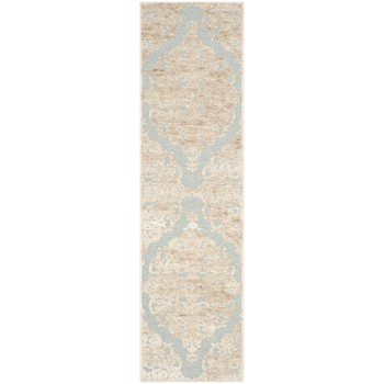 Covor Safavieh Oriental & Clasic Marigot Gri/Albastru 67x240 cm