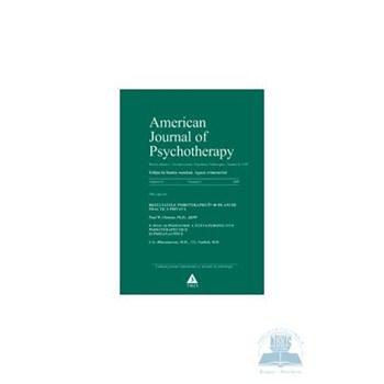 American journal of psychotherapy nr. 3 2008 - Jurnalul american de psihoterapie
