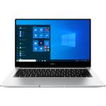Ultrabook Huawei MateBook D14 2020 AMD Ryzen 5 3500U 256GB SSD 8GB AMD Radeon Vega 8 FullHD Win10 Tast. ilum. FPR Silver 53011AHM