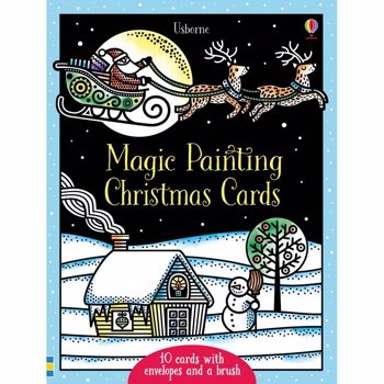 Magic Painting Christmas Cards - Carte Usborne (5+)