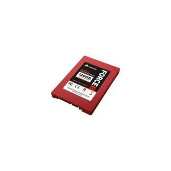 SSD Corsair Force GT 120GB SATA3, 555/515MBs, IOPS 85k, kit, adaptor