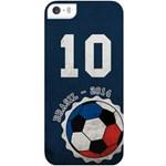-10% Muvit Husa Capac spate Brazilia - 2014 Albastru APPLE iPhone 5s, iPhone SE