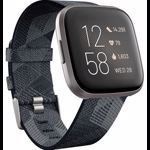 Ceas smartwatch Fitbit Versa 2 Special Edition, NFC, Smoke Woven