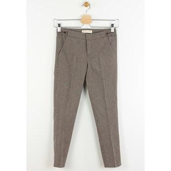Pantaloni ZARA Tela Brown