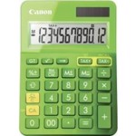 Calculator birou Canon LS123KGR verde, 12 digiti, ribbon, display LCD, functie business, tax si conv