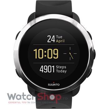 SmartWatch Suunto 3 Fitness, negru/argintiu