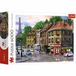 Puzzle TREFL Strazile Parisului 65001, 14 ani+, 6000 piese