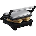Sandwich-Maker cu plita Russell Hobbs 17888-56 1800W 3 in 1 Panini Maker Grill si Plita W Negru-Argintiu 17888-56