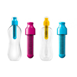 Sticla cu filtru din carbon - pentru purificarea apei