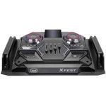 Boxa portabila cu Bluetooth Trevi, functie Karaoke, putere 300W, neagra