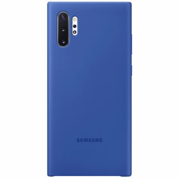 Husa Cover Silicone Samsung pentru Samsung Galaxy Note 10 Plus Albastru 8806090029233
