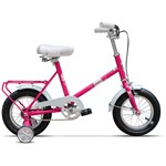 Bicicleta copii Pegas Soim Roz Guma