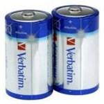 Baterii Alkaline Verbatim 49923, 2 buc