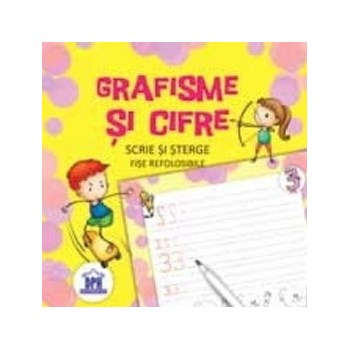 Grafisme si cifre. Scrie si sterge - fise refolosibile