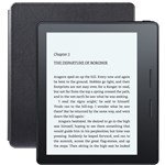 E-book Reader Amazon Kindle Oasis 8th Generation 4GB, Leather Charging Cover + Cellular, Black