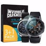 Folie sticla securizata Samsung Galaxy Watch 46mm Gear S3 9H 0 33 mm Ringke ID Glass Set 4 buc 8809628565333