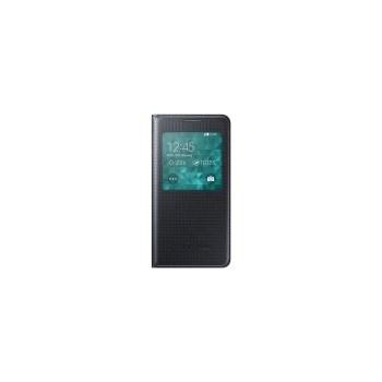 Husa de protectie Samsung S-View Cover pentru Galaxy Alpha G850, Black