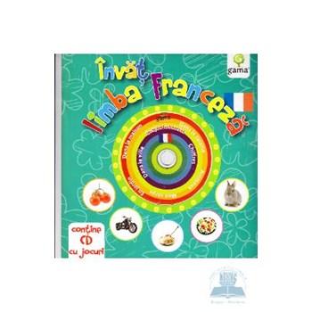Invat limba franceza (Contine cd cu jocuri)