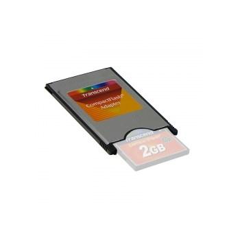 Adaptor Transcend PCMCIA pentru Compact Flash