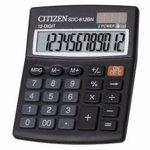 Calculator de birou Citizen SDC812BII Black sdc812bii