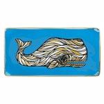 Tava decorativa-Patch NYC Whale