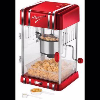 Masina pentru popcorn Unold 300 W Usa cu inchidere magnetica Rosu u48535