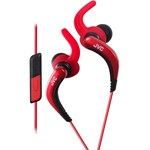 Casti JVC Sport HA-ETR40-R, intraauriculare, lavabile, rosii, cu microfon