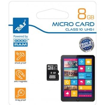 Card de Memorie Tellur MicroSD 8GB Clasa 10 UHS-I TLL521071