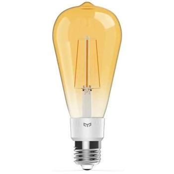 Bec cu filament Yeelight LED Filament Bulb ST64, 6W, 500lm