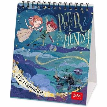 Calendar 2021 - Peter and Wendy, 12x14.5 cm