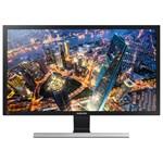 "Monitor LED SAMSUNG LU28E590DS, 28"", UHD, AMD FreeSync, negru-gri"