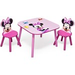 Set masuta si 2 scaunele Disney Minnie Mouse - Delta Children
