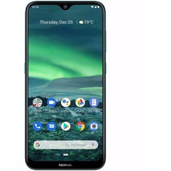 "Telefon Mobil Nokia 2.3, Procesor Quad-Core 2.0GHz, Ecran IPS LCD capacitive touchscreen 6.2"", 2GB RAM, 32GB Flash, Camera Duala 13+2MP, Wi-Fi, 4G, Dual Sim, Android (Verde)"