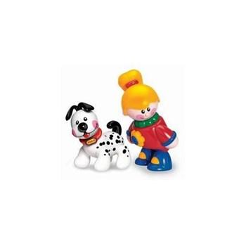 Figurine Cei mai buni prieteni First Friends Tolo fetita si catelus tolo89604