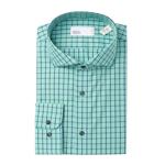 Imbracaminte Barbati Nordstrom Rack Check Trim Fit Dress Shirt GREEN CLIMBER
