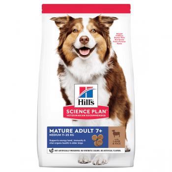 Hrana pentru Caini, Hill's SP Canine Mature Medium Miel si Orez, 14 Kg